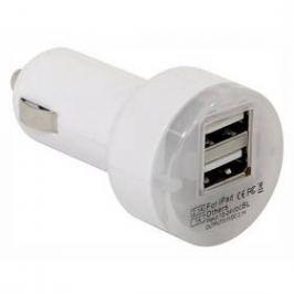 Compass 2,1A (iPhone4/5, micro USB, mini USB, Nokia) bílý