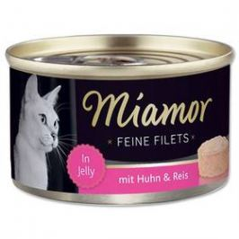 Miamor Filet kuře + rýže v želé 100g