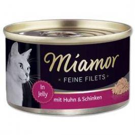 Miamor Filet kuře + šunka v želé 100g