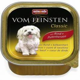 Animonda Vom Feinsten Classic hovězí + krůtí srdce 150g