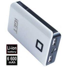 iGET POWER B 6600mAh (B-6600) bílá