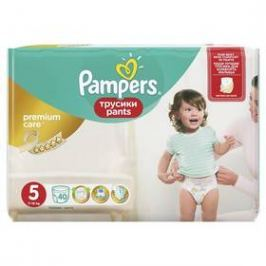 Pampers Premium Care Junior vel. 5, 40ks