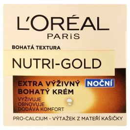 L'Oréal Paris Nutri-Gold Extra, výživný bohatý noční krém  50 ml