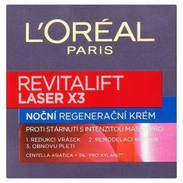 L'Oréal Paris Revitalift Laser X3, noční regenerační krém proti stárnutí pleti 50 ml