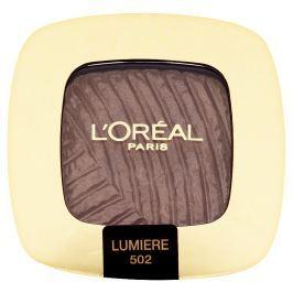 L'Oréal Paris perleťové oční stíny Color Riche  502 Lumiere Quartz Fumé