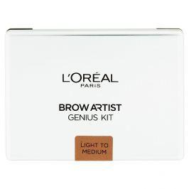 L'Oréal Paris kazeta na úpravu obočí Brow Artist Genius  Light to Medium