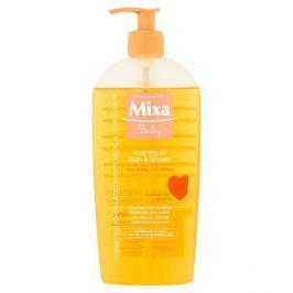 Mixa Baby Pěnivý olej do sprchy i do koupele  400 ml