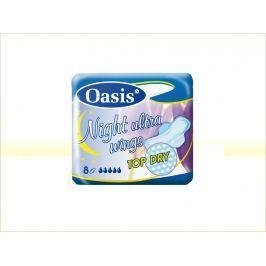 Oasis Night Ultra Wings Top Dry dámské vložky  8 ks/bal.