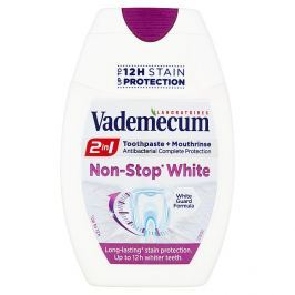 Vademecum 2v1 zubní pasta Non-Stop White  75 ml