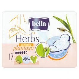 Bella Herbs Plantago prodyšné hygienické vložky 12 ks