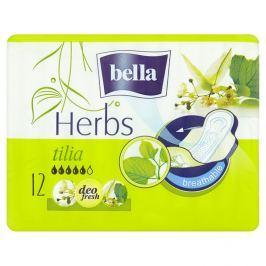 Bella Herbs Tilia prodyšné hygienické vložky 12 ks / balení