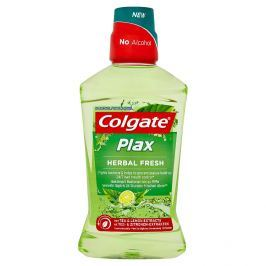 Colgate Plax Herbal fresh ústní voda bez alkoholu 500 ml