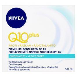 Nivea Q10 Plus Zjemňující denní krém proti vráskám OF 15 50 ml