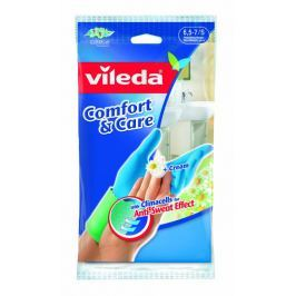 Vileda Comfort and Care rukavice, S  1 ks