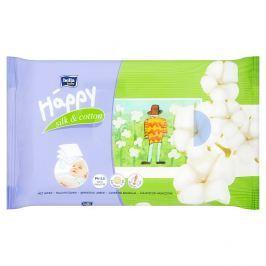 Bella Baby Happy Hedvábí a Bavlna vlhčené ubrousky  64 ks