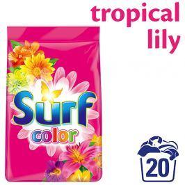 Surf Color Tropical Lily & Ylang Ylang prací prášek, 20 praní 1,4  kg