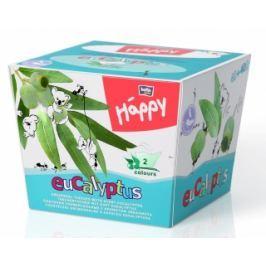 Bella Happy  2 vrstvé dětské papírové kapesníky - Eucalyptus 80 ks