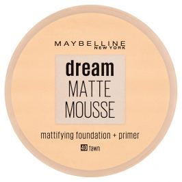 Maybelline NY Dream Matte Mousse, make-up v lehké pěně 40 Fawn