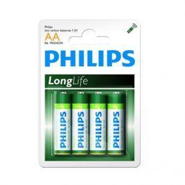 Baterie Philips LongLife AA  4 ks/bal