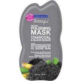 Freeman peelingová maska s uhlím a cukrem 175 ml