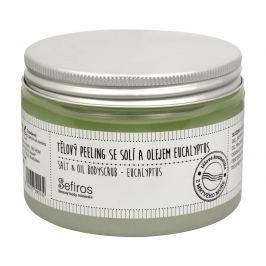Sefiros tělový peeling se solí a olejem 300 ml, eucalyptus