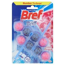 Bref Blue Aktiv WC blok, Fresh Flower 2x50g