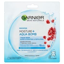 Garnier Superhydratační vyplňující maska Moisture&Aqua Bomb  32 g