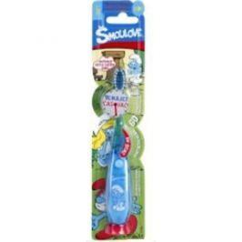 VitalCare blikající kartáček s časovačem Šmoulové  Dětské kartáčky na zuby