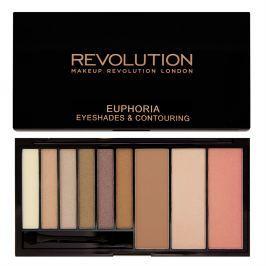 Makeup Revolution oční stíny a konturovací sada  Bronzed Euphoria