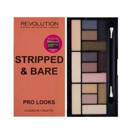 Makeup Revolution Paletka 15 očních stínů Stripped & Bare