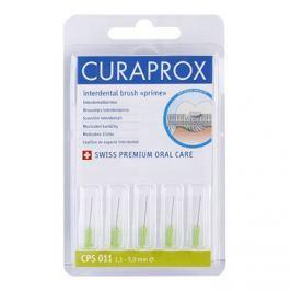 Curaprox Prime Refill 011 náhradní mezizubní kartáčky 5 ks, 5 mm, zelené