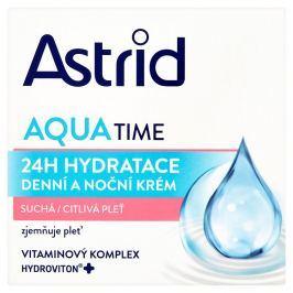 Astrid Moisture Time denní a noční krém suchá a citlivá pleť 50 ml