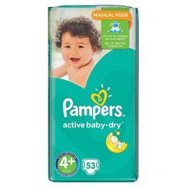 Pampers Active Baby Maxi Pack pleny 4+ Maxi+, 9-16 kg 53 ks
