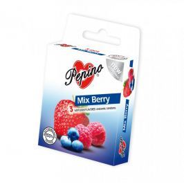 Pepino Mix Berry kondomy 3 ks