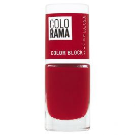 Maybelline Color Show lak na nehty 486 Red
