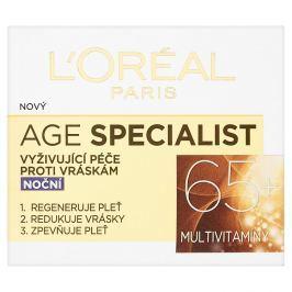 L'Oréal Paris Age Specialist 65+ noční vyživující péče proti vráskám 50 ml