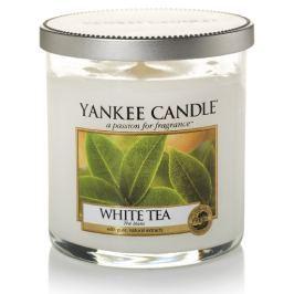 Yankee Candle Décor malý vonná svíčka White Tea, 198 g