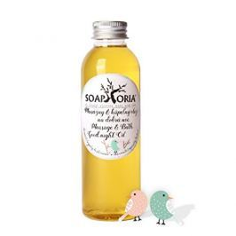 Soaphoria Babyphoria organický masážní a koupelový olej na dobrou noc 150 ml Masážní přípravky