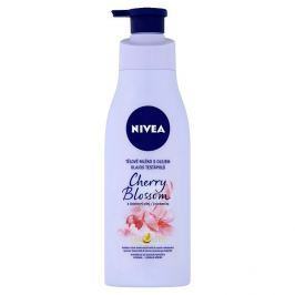 Nivea tělové mléko s olejem třešňový květ & jojobový olej 200 ml