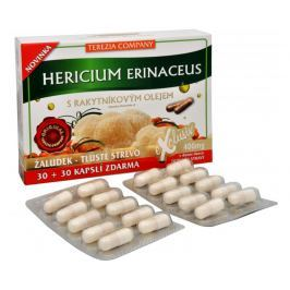 Terezia Company Hericium erinaceus se 100% rakytníkovým olejem  30 kapslí + 30 kapslí ZDARMA
