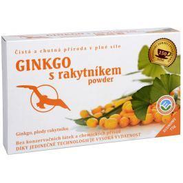 Ginkgo s rakytníkem powder - ginkgo, plody rakytníku 75 g