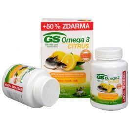 GS Omega 3 Citrus 100 kapslí + 50 kapslí ZDARMA