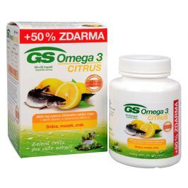 GS Omega 3 Citrus 60 kapslí + 30 kapslí