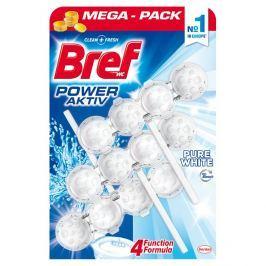 Bref Power Aktiv WC blok Pure White 3 x 50 g