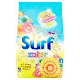 Surf Color Fruity Fiesta & Summer Flowers prací prášek, 20 praní 1400 g