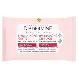 Diadermine Essentials čisticí pleťové ubrousky 25 ks