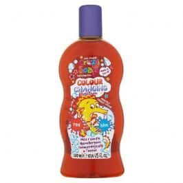Crazy Soap Colour Changing pěna do koupele s měnící barvami Red to Blue 300 ml