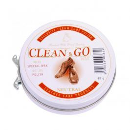 Clean&Go krém na obuv v plechovce neutrální 40 g