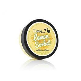 I Love Lemon Sorbet vyživující tělové máslo s vůní citronového sorbetu  200 ml