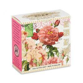 Michel Design Works luxusní mýdlo v elegantní krabičce Růže 100 g Tuhá mýdla